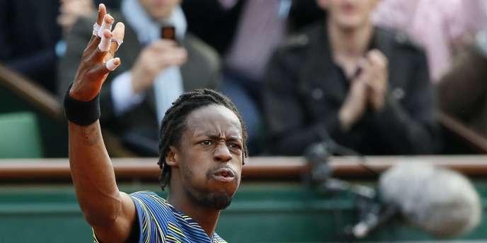 Gaël Monfils, le 29 mai à Roland-Garros.