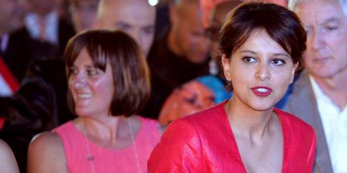 Najat Vallaud-Belkacem était la seule membre du gouvernement présente au premier mariage homosexuel, le 29 mai à Montpellier.