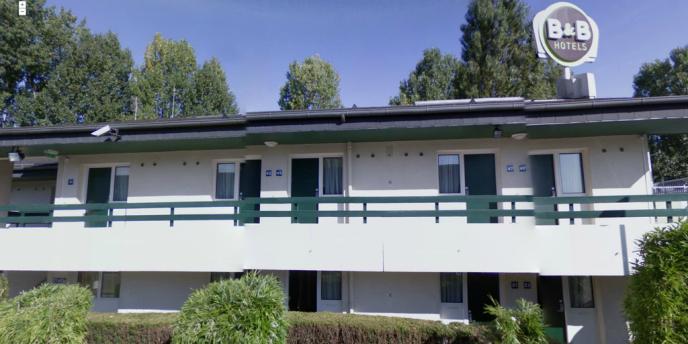 Photo de l'hôtel B&B de Pontault-Combault, où a eu lieu l'arrestation de Redoine Faïd.