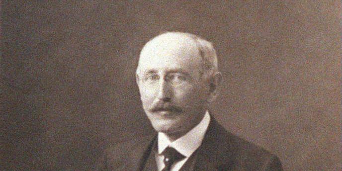 Photo non datée du capitaine Alfred Dreyfus.