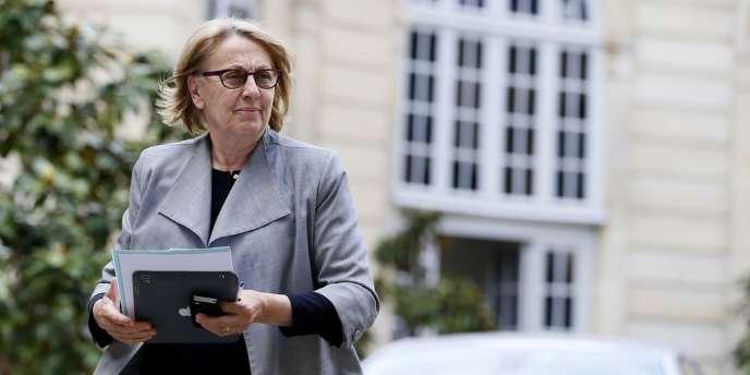 Marylise Lebranchu, ministre de la réforme de l'Etat, de la décentralisation et de la fonction publique, à Matignon, le 22 mai.