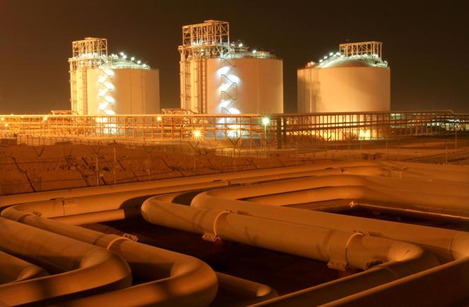 Le champ pétrolier de South Pars, en Iran.