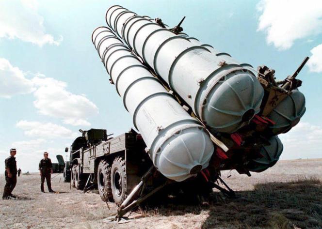 Des missiles S-300 en Russie, en 1996.