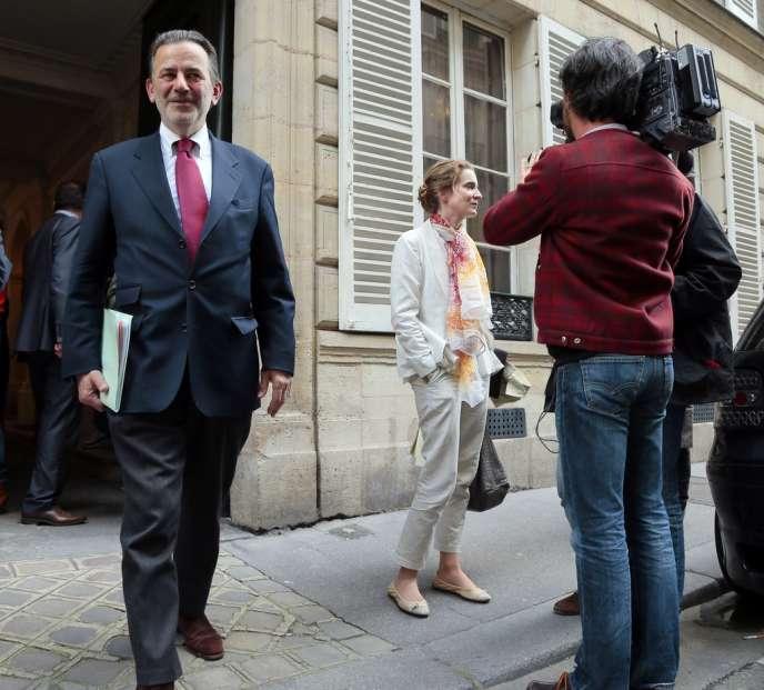 Jean-François Legaret et Nathalie Kosciusko-Morizet, le 29 mai 2013.