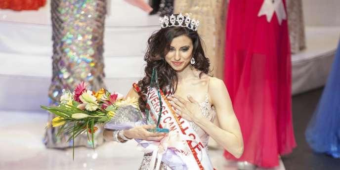 Denise Garrido, couronnée samedi, est en réalité arrivée quatrième du concours de Miss Univers Canada.