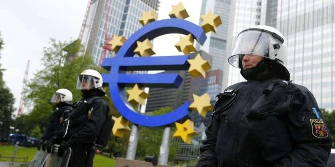 la Banque centrale européenne, Francfort, le 31 mai 2013.