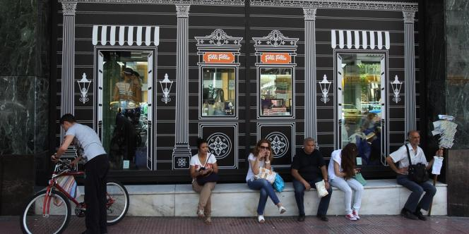 C'est en Grèce que le taux de chômage est le plus important au sein de la zone euro, avec 27 % de la population active.