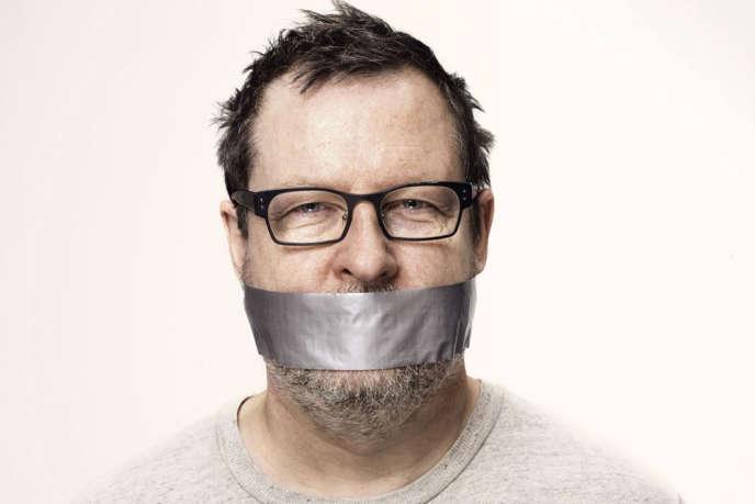 Photo du réalisateur danois Lars von Trier publiée sur le site de son producteur Trust Nordisk.