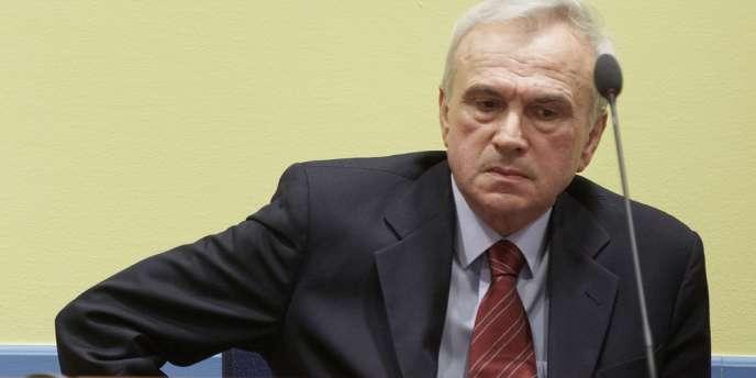 Jovica Stanisic a été acquitté jeudi 30 mai à La Haye, par le Tribunal pénal pour l'ex-Yougoslavie.