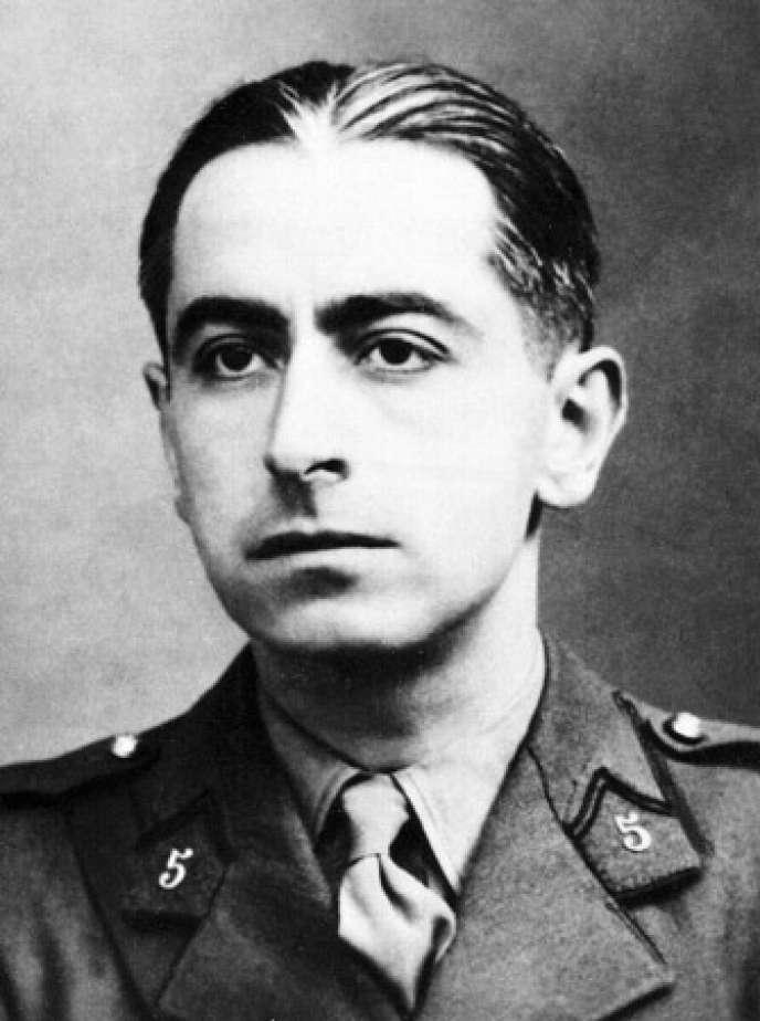 Le résistant Pierre Brossolette (1903-1944).