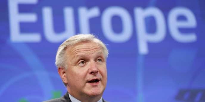 Olli Rehn, commissaire aux affaires économiques et monétaires.