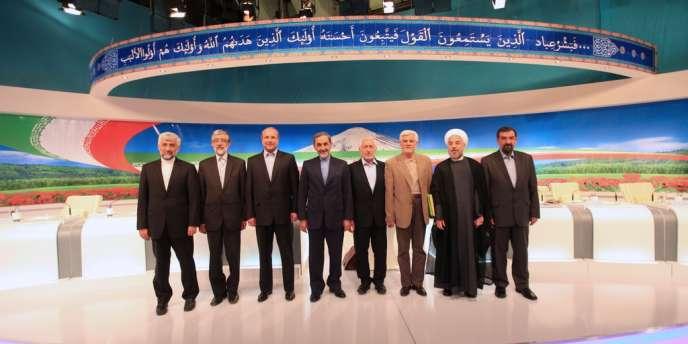 Les candidats à l'élection présidentielle doivent se rencontrer trois fois dans le cadre de ces débats télévisés.