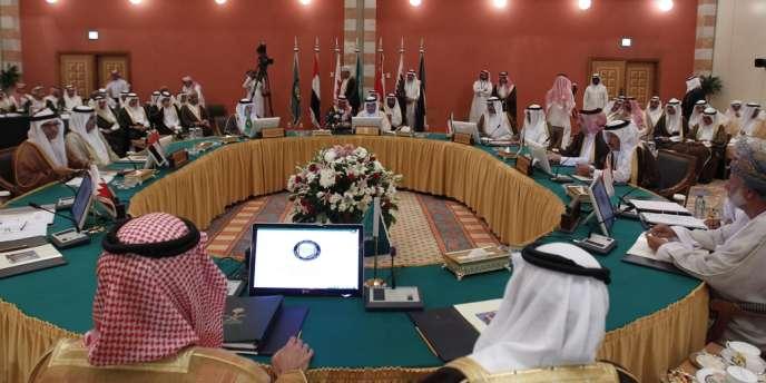 Réunion du Conseil de coopération du Golfe, le 2 juin à Jeddah en Arabie Saoudite.