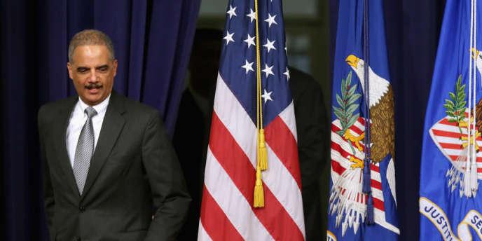 Le ministre de la justice américain Eric Holder, le 29 mai à Washington.