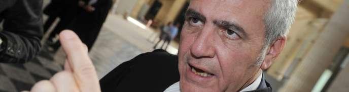 L'avocat de Nicolas Sarkozy, Thierry Herzog.