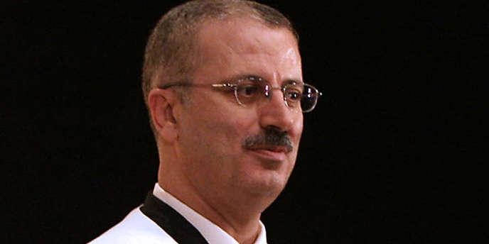 Rami Hamdallah, ici le 15 juin 2006 à Naplouse, a été chargé de former le nouveau gouvernement palestinien.