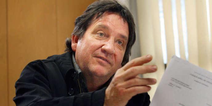 Rémy Garnier (ici en 2010), l'inspecteur du fisc qui avait consulté le dossier fiscal de Jérôme Cahuzac en soupçonnant l'existence d'un compte en Suisse.
