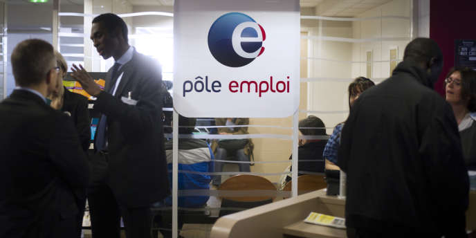 Dans une agence Pôle emploi, en mars 2013 à Pantin.