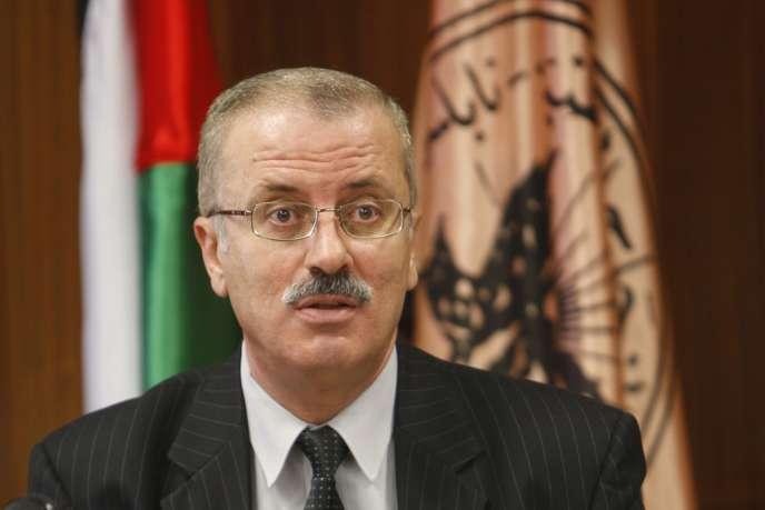 Rami Hamdallah, à Naplouse, le 24 février 2010.