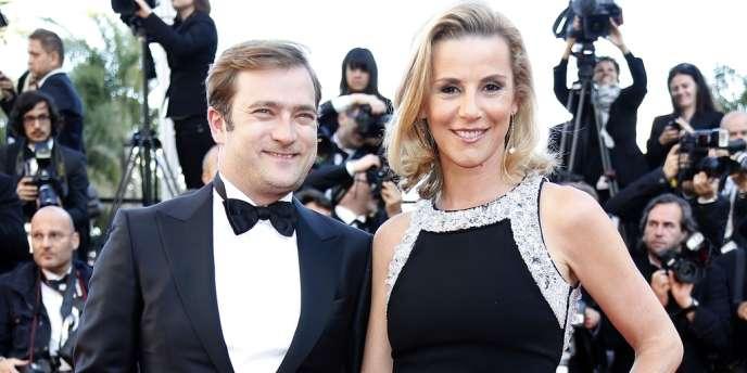 Laurence Ferrari, à Cannes, le 17 mai 2013.