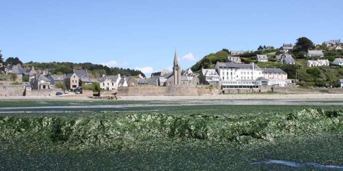 Premières marées vertes à Saint-Michel-en-Grève dans les Côtes-d'Armor, dimanche 2 juin.
