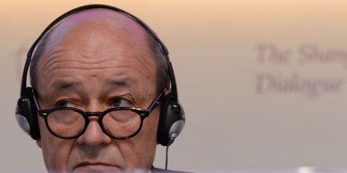 Jean-Yves Le Drian, le ministre de la défense, le 2 juin.