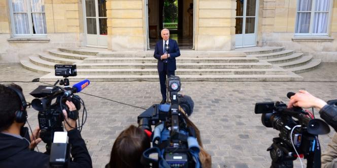 Le premier ministre, Jean-Marc Ayrault, à Matignon, le 13 mai.