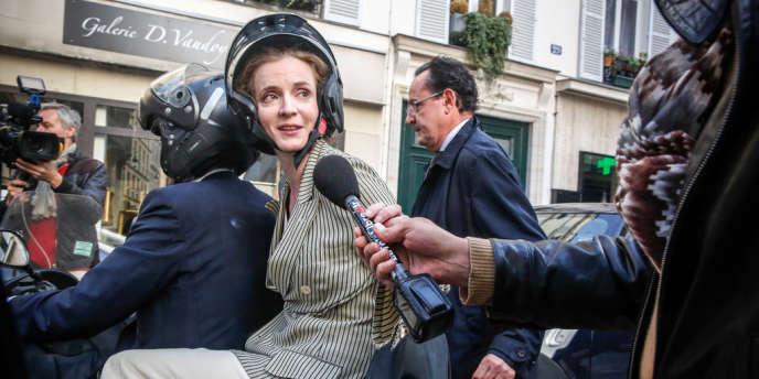 Nathalie Kosciusko-Morizet vient d'être élue candidate à la primaire UMP pour les municipales parisiennes, le 3 juin.