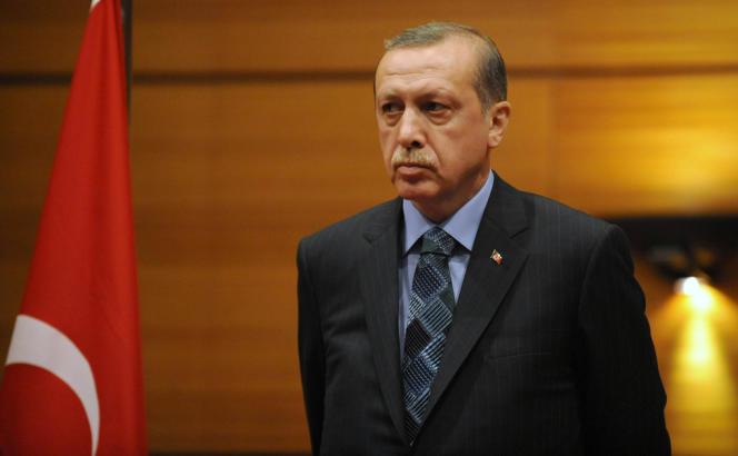 Recep Tayyip Erdogan, le 3 juin à Rabat.
