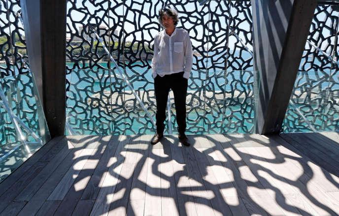 L'architecte Rudy Ricciotti, au Musée des civilisations de l'Europe et de la Méditerranée (MuCEM).