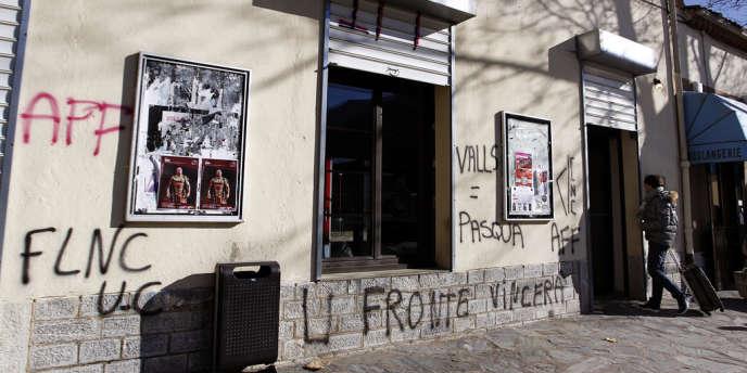 Le Front de libération nationale de la Corse s'est exprimé par un communiqué envoyé aux médias.