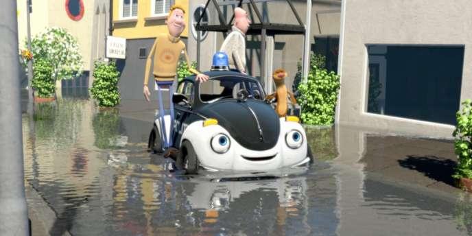 Une image du film d'animation norvégien de Rasmus A. Sivertsen,