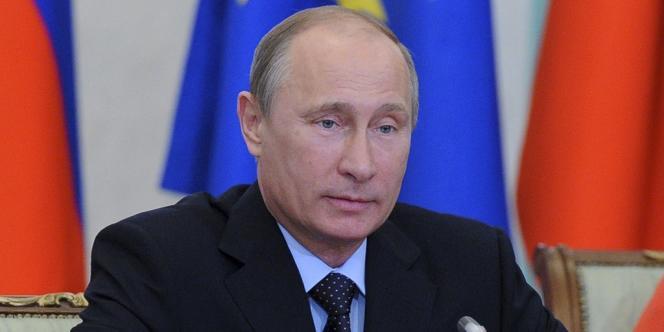 Le président russe, Vladimir Poutine, le 4 juin, à Ekaterinbourg.