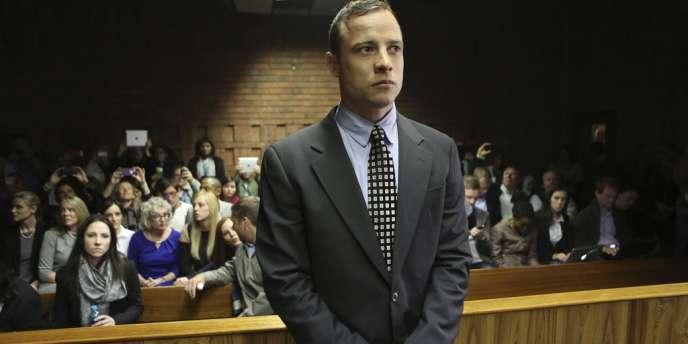 Oscar Pistorius lors de l'audience du 4 mai.