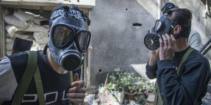 A Jobar, en Syrie, le 13 avril 2013.