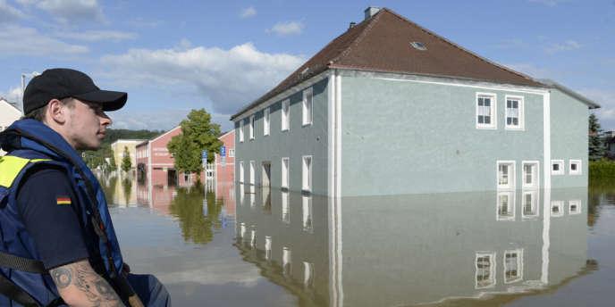 Photo prise le 5 juin 2013 à Fischerdorf, près de Deggendorf, dans le sud de l'Allemagne.