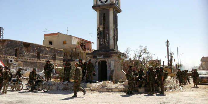 Qoussair, noeud stratégique tenu pendant des mois par la rébellion syrienne, a été repris par l'armée syrienne avec l'aide du Hezbollah libanais.