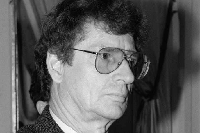 L'écrivain sud-africain André Brink en 1993.
