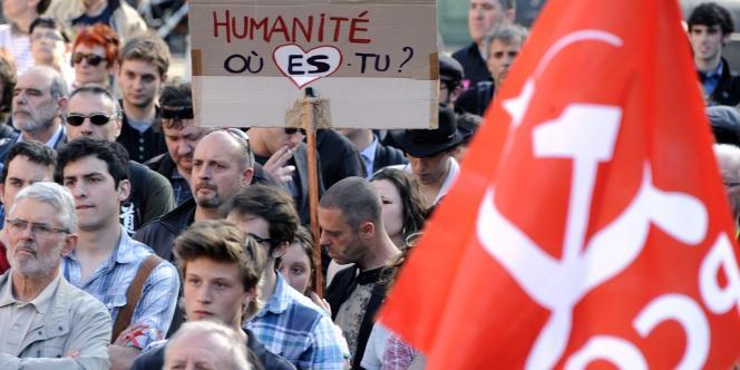 A Toulouse, manifestation pour condamner