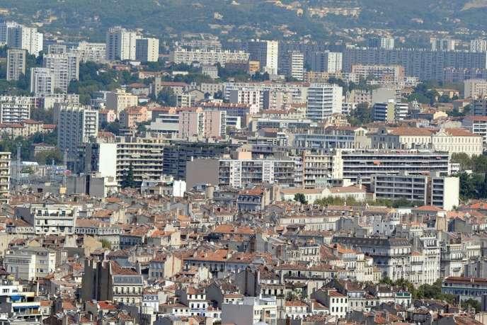 Les quartiers nord de Marseille.