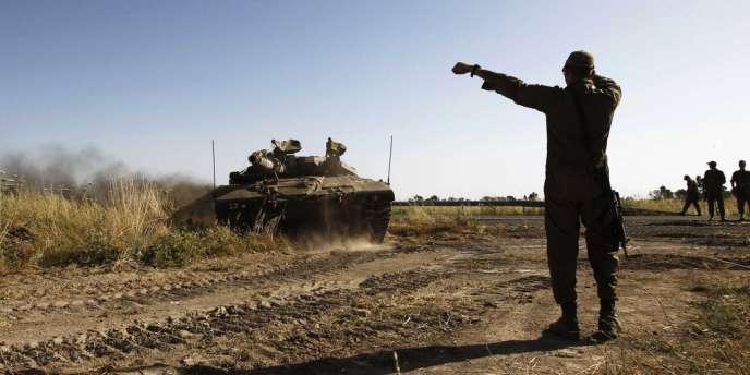 Dans l'après-midi, l'armée syrienne a repris le contrôle du passage situé sur le plateau du Golan tombé dans la matinée aux mains des rebelles.
