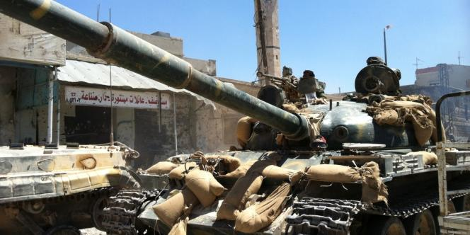 L'armée syrienne a pris le contrôle