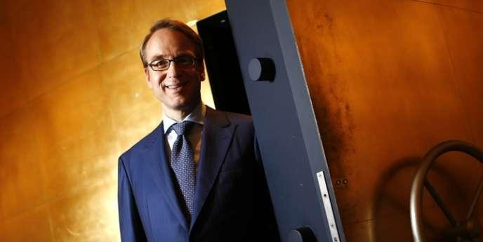 Jens Weidmann, le président de la Bundesbank, le 17 mai, à Francfort.