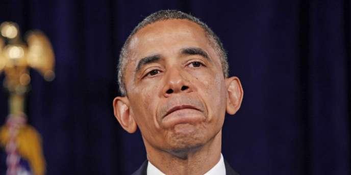 Barack Obama s'exprimait le 7 juin 2013 à San José, en Californie.
