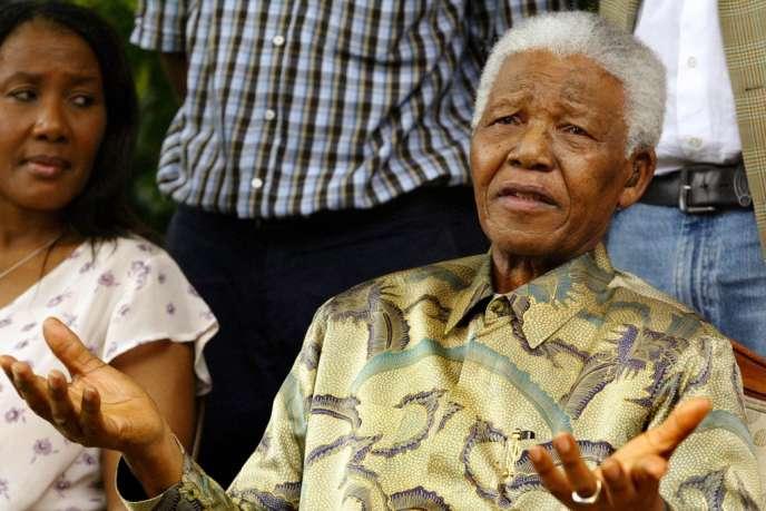 L'icône de la lutte contre l'apartheid, qui est âgé de 94 ans, a été hospitalisée fin mars pendant neuf jours pour une pneumonie.