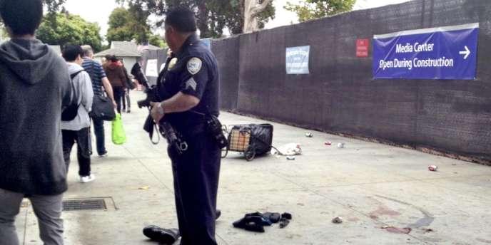La fusillade a éclaté en milieu de journée à Santa Monica, vendredi 7 juin.
