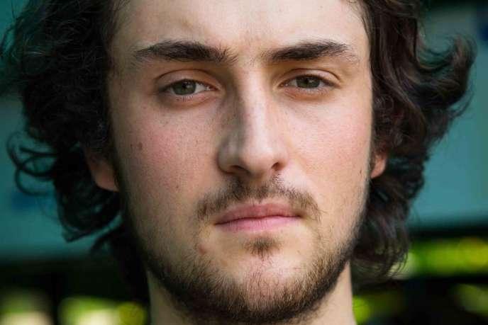 Le photographe français Edouard Elias, enlevé en Syrie près d'Alep en juin 2013. Il a été libéré mi-avril, ainsi que trois autres journalistes français, après dix mois de captivité.