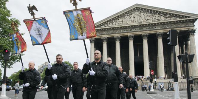 Manifestation des JNR à Paris, le 8 mai 2011.