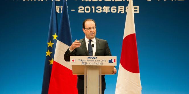 François Hollande, le 8 juin à Tokyo.