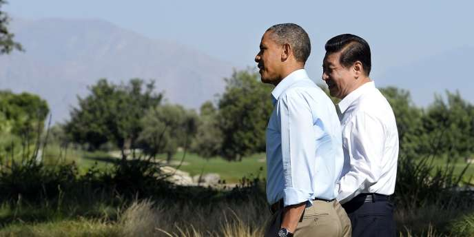 Les présidents américain et chinois, Barack Obama et Xi Jinping, se sont engagés à limiter la production et l'usage de gaz industriels par leurs pays d'ici à 2050.